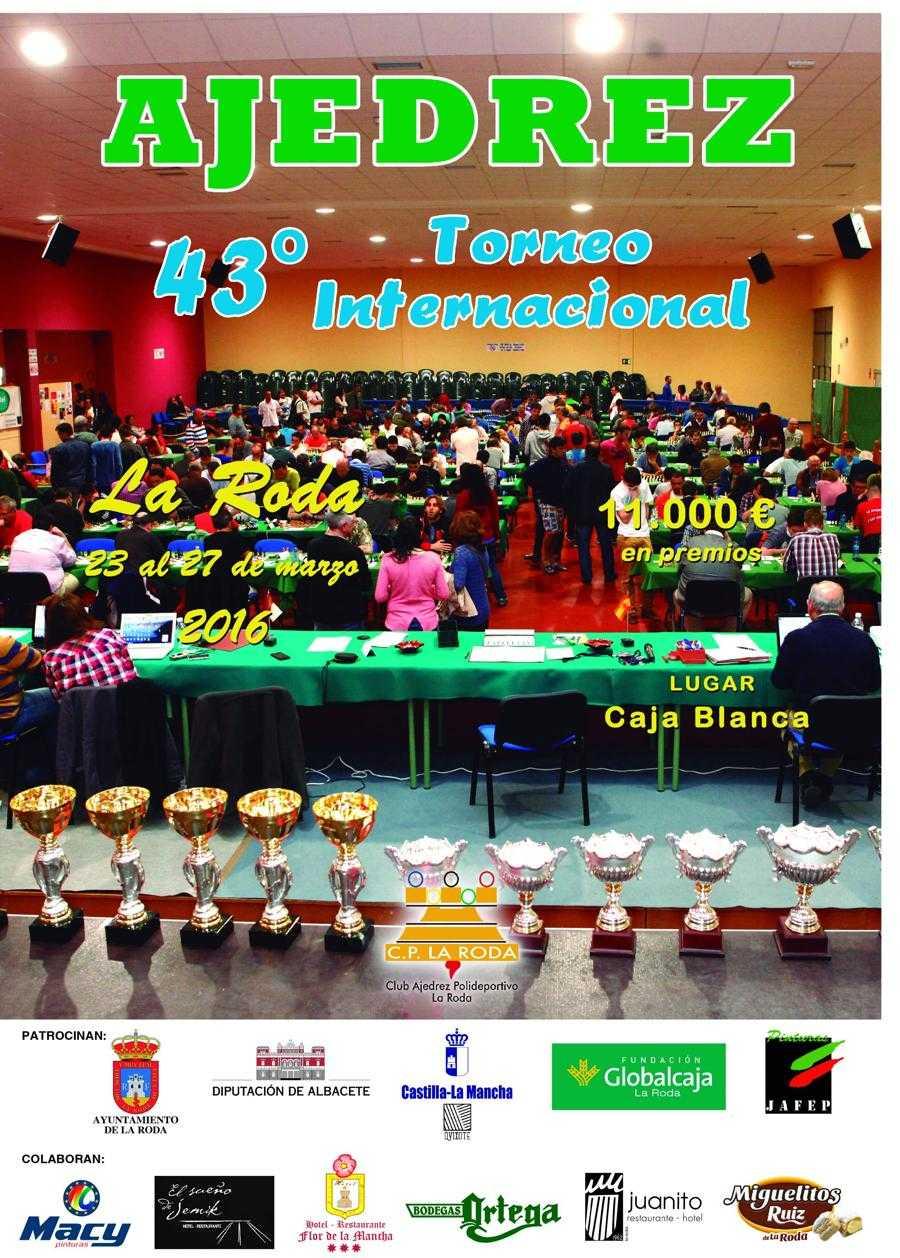 Torneo: 23-27 de mayo, La Roda - Open Internacional 43-1